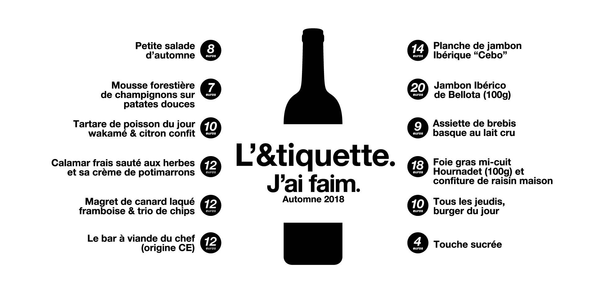 L'ETIQUETTE menus bois Automne 2018 V2